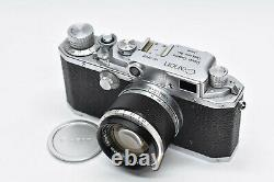 EXC+++++ CANON IIF RANGEFINDER MF with50mm f1.8 LENS Leica L39 Mount Japan #1871