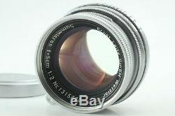 EXC+++++ Leica Summicron 5cm 50mm f/2 Screw Mount LTM M39 lens from Japan