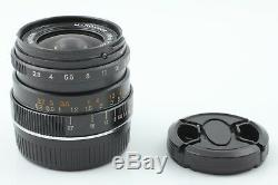 EXC++++Minolta M Rokkor 28mm F2.8 MF Lens Leica M mount for CL CLE JAPAN 1122