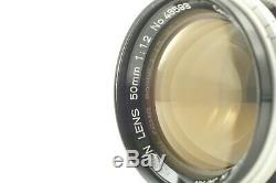 EXC+++ TESTED Canon 50mm f/1.2 Lens LTM L39 Leica Screw Mount from JAPAN