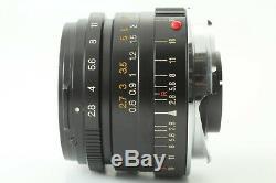 EXC+++ withHood Minolta M-ROKKOR 28mm f/2.8 Leica M mount Lens CL CLE JAPAN 648