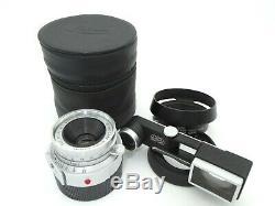 EX+5 Leica Leitz Wetzlar Summaron 35mm f3.5 M Mount with Goggle Hood from JP