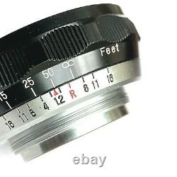 EX+ Rare Helicoid Mount For Fuji Japan Fujinon 5cm 50mm f1.2 Lens LTM Leica L39