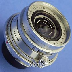 Early Leica Super-Angulon 21mm F4 M Mount Lens Beautiful Condition