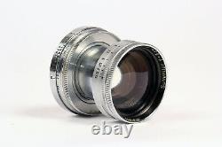 Ernst Leitz Wetzlar 50mm f2 Summitar Lens M39 Leica Thread Mount, LTM