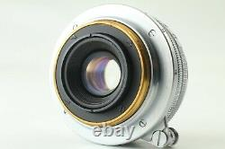 Exc+3 Canon 28mm f2.8 L39 LTM Leica Screw Mount from Japan #447
