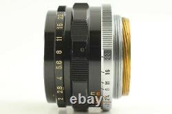 Exc+3 Canon 35mm f2 MF Lens L39 LTM Leica Screw mount from Japan #700