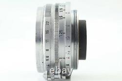 Exc+4 Canon 28mm f2.8 MF Lens for L39 LTM Leica Screw Mount from Japan #540