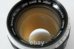 Exc+4 Canon 50mm f/1.2 Lens LTM L39 Leica Screw Mount from JAPAN #277