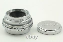 Exc+5 CANON 28mm f/3.5 Lens L39 Leica Screw Mount From Japan