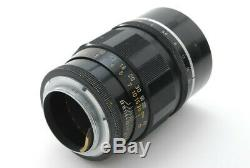 Exc+++ Canon 100mm F/2 L L39 LTM Leica Screw Mount Lens From Japan C404