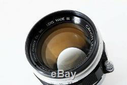 Exc Canon 50mm f/1.4 L39 Leica Screw Mount LTM JAPAN #190034-391427
