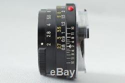 Exc+++++Minolta M-Rokkor 40mm f2 Leica M mount Leitz CL CLE From JAPAN #295