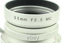 Exc+++++ Voigtlander Color Skopar 35mm f/2.5 MC L39 Leica Screw Mount # 842