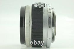 Excellent 5Canon 35mm f/2.8 Lens for Leica Screw Mount L39 LTM from Japan #077