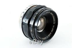 Excellent++CANON 35mm F2 Leica Screw Mount LTM L39 MF Lens from JAPAN 4410