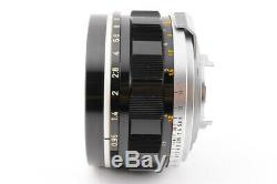 Excellent+CANON 50mm F0.95 Dream Lens For 7 Leica L Mount +METAL HOOD CAP JP
