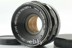 Excellent+++++ Canon 35mm f2 L39 Leica Screw Mount LTM from Japan #336