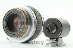 Excellent++++ Canon 35mm f/2.8 Leica Screw Mount L39 Lens with 35mm Finder Japan