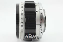 Excellent+++++ Canon 50mm f1.2 Leica Screw Mount LTM L39 Lens from JAPAN 1704
