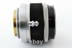 Excellent Canon 50mm f/1.8 Leica Screw Mount LTM L39 Rangefinder lens from Japan