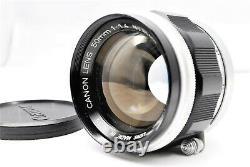 Excellent++++Canon Lens 50mm f/1.4 Leica Screw Mount LTM L39 Lens from Japan