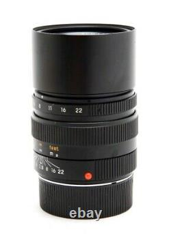 Excellent Leica 90mm f2.8 Elmarit-M Mount Manual Focus Lens 11807 with Box 32808