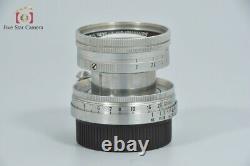 Excellent-! Leica SUMMICRON 50mm f/2 L39 LTM Leica Thread Mount