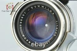 Excellent-! Leica SUMMILUX 35mm f/1.4 1st Leica M Mount with Goggles