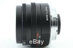 Exhibit Konica M-Hexanon 28mm F/2.8 Lens for Leica M Mount From JAPAN #0743