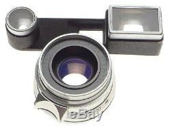 Goggles Summicron 2/35mm Coated Leica M bayonet mount camera lens f=35mm hood