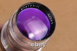 JUPITER 12 35mm f2.8, Lens 4/135 Jupiter-11 M39 mount for Leica Zeiss Biogon