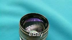 Jupiter-3 1.5/50 M39 rare Leica mount L39 portrait lens Carl Zeiss Sonnar copy