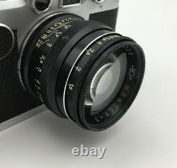 Jupiter-3 LTM Leica Thread Mount 50 mm F1.5 Lens Rare Black EXC from Fedka