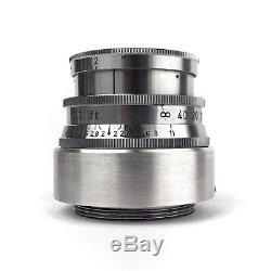 Kodak Ektar 47mm F2 Ltm Leica M39 Screw Mount Prime Lens