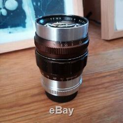 Komura 80mm f1.8 mount Leica SM Lens (LTM / L39) Rare