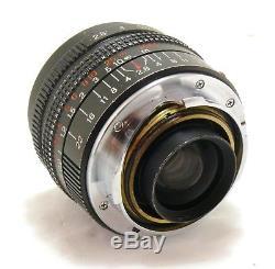Konica 28mm f/2.8 M-Hexanon lens, Leica M mount EXC+