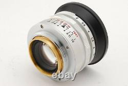 Konica Hexanon 35mm F2 for Leica L39 LTM Mount from japan #50