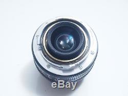 Konica M-Hexanon 28mm f/2.8 Lens For Leica M mount Excelent+