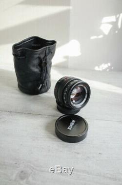 Konica M Hexanon 50mm f/2.0 KM / Leica M mount pristine