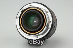 Konica M Hexanon M-Hexanon 35mm f/2 f2 Manual Focus Lens, For Leica M mount