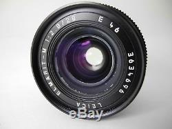 LEICA 28MM/2.8 4th VERSION M MOUNT PERFECT BARREL SMOOTH FOCUS AND APERTURE READ