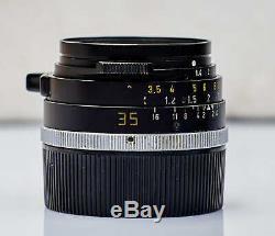 LEICA 35mm f/1.4 SUMMILUX M mount Lens