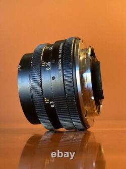 LEICA ELMARIT-R 35mm F/2.8 Lens (R-Mount) (3 Cam) LEITZ WETZLAR