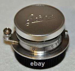 LEICA SUMMARON SOONC Screw mount 3.5/3.5 cm 64° Année 1950