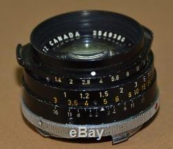 LEITZ SUMMILUX f1.4 35mm TYPE 2/II, LEICA LENS, M Mount, REAR LENS COVER, BOX