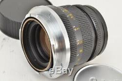 LEITZ WETZLAR LEICA SUMMICRON 50mm F2 Ver. II Black MF Lens for M Mount #190704am