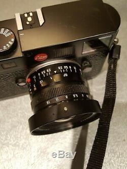 Leica 21mm 2.8 lens m mount (near mint) very sharp