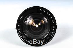Leica 21mm F/4 Super Angulon 2 Cam #11813 R Mount Lens Series 8.5
