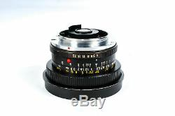 Leica 21mm F/4 Super Angulon 3 Cam R Mount Lens Series 8.5